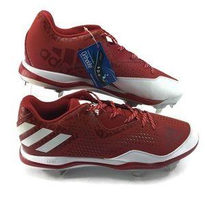 Adidas Men's Baseball Cleats Litestrike Sz 13